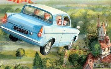 Βιβλιοδωράκια για τις γιορτές – part 1: Ο Χάρι Πότερ με εικονογράφηση