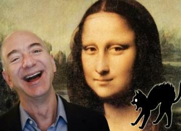O Τζεφ Μπέζος της Amazon να αγοράσει τη Μόνα Λίζα και… να τη φάει!