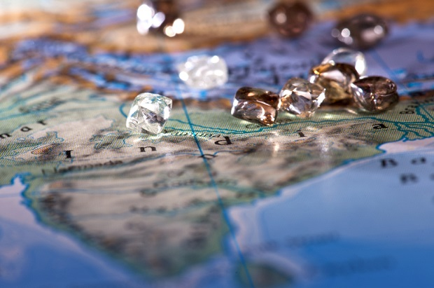 Diamond mining was invented in India