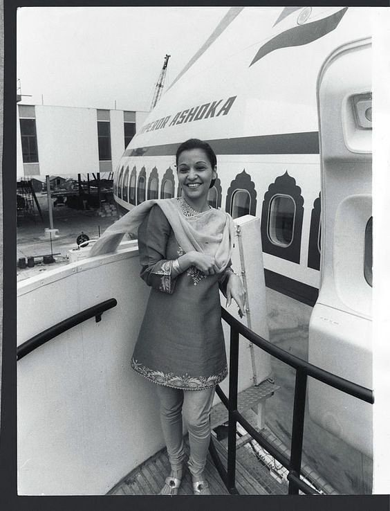 Indian Air Hostesses in Suit