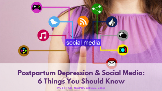 postpartum depression and social media