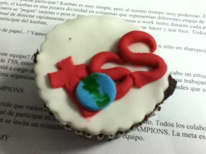 Cupcake del trabajo luego de un townhall