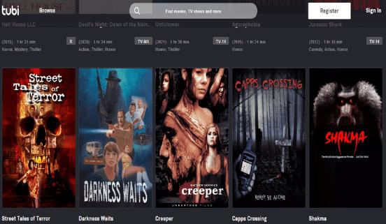 أفلام رعب اون لاين