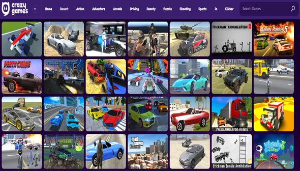موقع لعبة سيارات