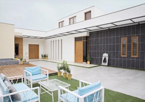 Corten Cube House - Ghaziabad-10 copy