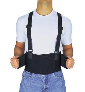 back brace for work