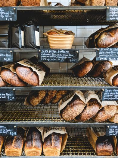 Small Town Bakeries -- photo courtesy of Dan Gold on Unsplash
