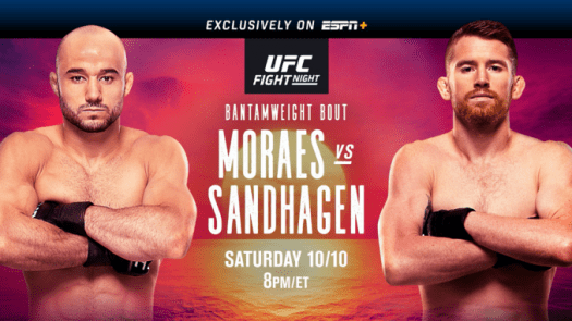 UFC FIGHT NIGHT: Sandhagen finishes Moraes with a ...