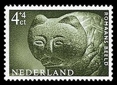NVPH 766 - Zomerzegel 1962 - Romaans beeld