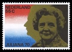 NVPH 1174 - Koningin Juliana 70 jaar