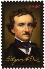 edgar-allan-poe-postzegel-2009-42c