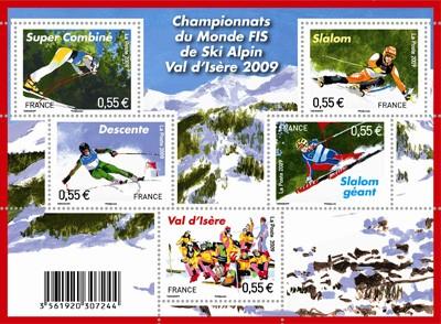 kampioenschappen-skien-val-disere-2009-frankrijk-postzegelvelletje