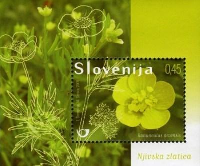 boterbloem_slovenie_postzegel