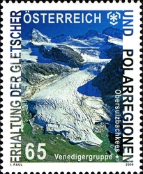 stamp_austria_preserving_glaciers_2009