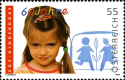 stamp_austria_sos_childrenvillage_2009
