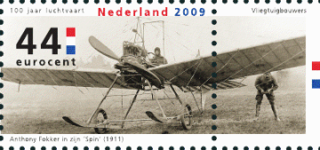 NVPH 2681 - Anthony Fokker in zijn Spin