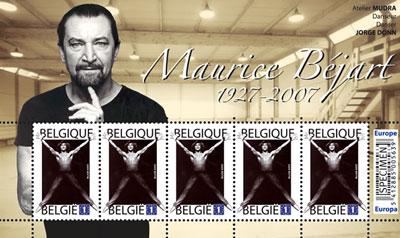 maurice-bejart-stamp