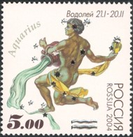 4 postzegel Waterman Rusland 2004