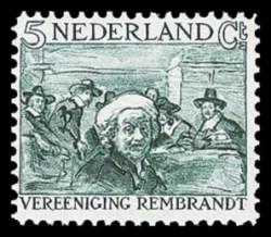 NVPH 229 - Rembrandt-zegel