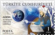 turkije-astronomy-2009-stamps
