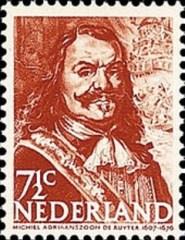 NVPH 412 - Zeehelden - Michiel de Ruyter
