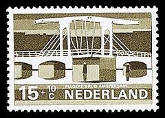 NVPH 902 - Zomerzegel - Magere Brug Amsterdam