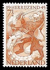 NVPH 443 - Bevrijdingszegel