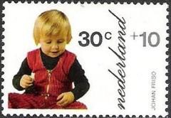 NVPH 1021 - Kinderzegel 1972 - Johan Friso