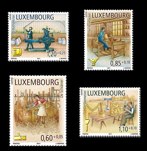 beroepen van vroegen Luxemburg