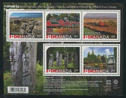 World Heritage stamps