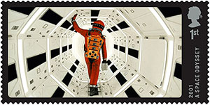 2001 a space odyssey postzegel