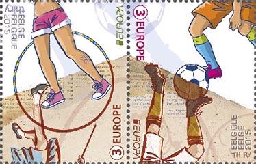 Postzegels België 2015 Europa-uitgifte, Speelgoed van alle tijden 13 april