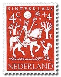 sinterklaas postzegel Nederland