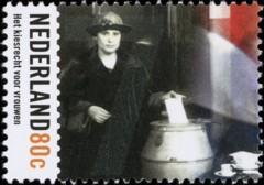 NVPH 1850 - Hoogtepunten uit de 20e eeuw - Vrouwenkiesrecht