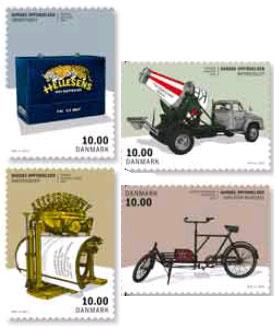 postzegels Denemarken 2015 Deense uitvindingen