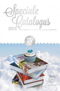 Voorkant omslag speciale cataogus 2016 75e editie