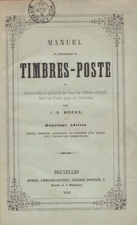 Moens june 1862