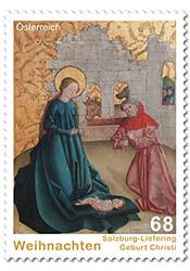 Kerst postzegel