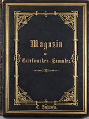 Magazin für Briefmarken-Sammler uit 1863