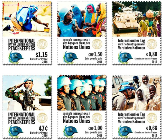 peacekeepers postzegels