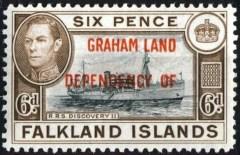 Graham Land 1944 Mi 6