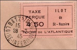 St Nazaire aangetekend detail