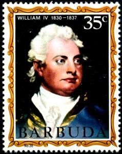 Barbuda William IV No 36