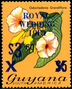 Guyana Mi 616 blauw