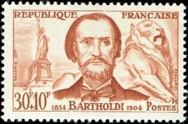 Frankrijk 1959 Bartholdi