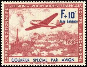 Frans Legioen luchtpost zonder opdruk b
