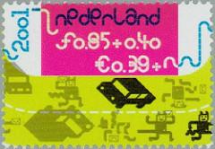 NVPH 2013b - Kinderzegels 2001