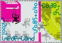 NVPH 2013a - Kinderzegels 2001