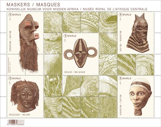 De maskers uit Tervuren Prachtstukken uit het Koninklijk Museum voor Midden-Afrika