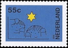 NVPH 1662 - Decemberzegel 1995